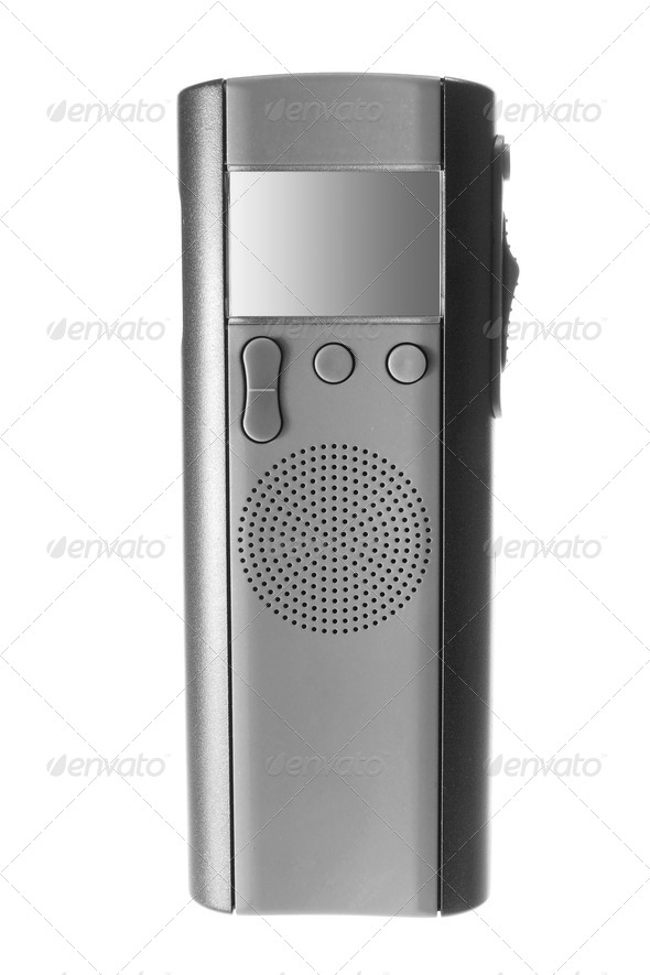 Digital Dictaphone - Stock Photo - Images