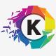 Kinetiko Letter / Alphabet - GraphicRiver Item for Sale
