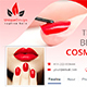 Cosmetics Facebook Timeline - GraphicRiver Item for Sale