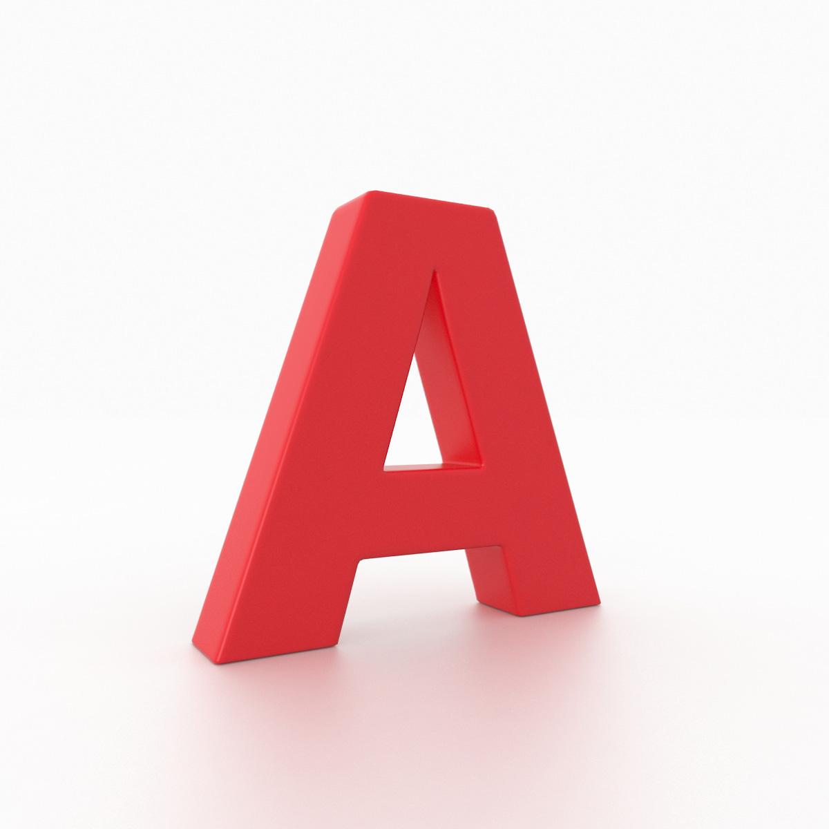 ALPHABET Font Futura Md BT Medium