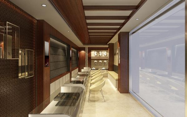 False Ceiling Design For Jewellery Shop