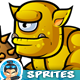 Cyclops Orcs 2D Game Character Sprites 258 - GraphicRiver Item for Sale
