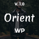 Orient - Modern WordPress Blog Theme