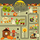 Halloween in Town - GraphicRiver Item for Sale