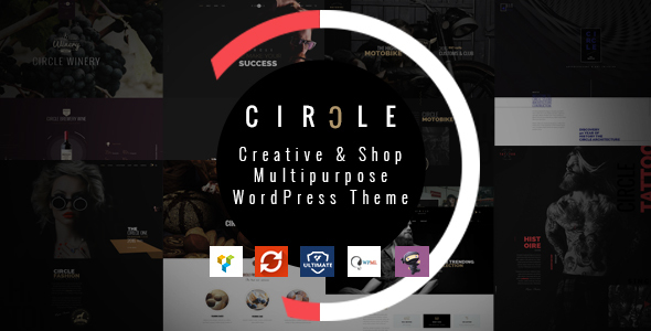 CIRCLE – Creative & Shop Multipurpose WordPress Theme