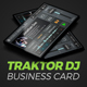 Mobile Digital DJ Business Card - GraphicRiver Item for Sale