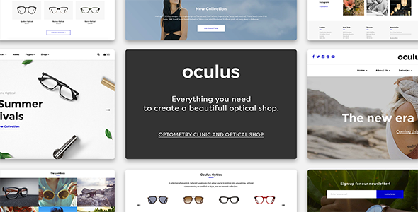 Oculus – Creative Multi-Concept Business Theme