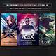Guest DJ Party Flyer/Poster Bundle Vol. 9 - GraphicRiver Item for Sale