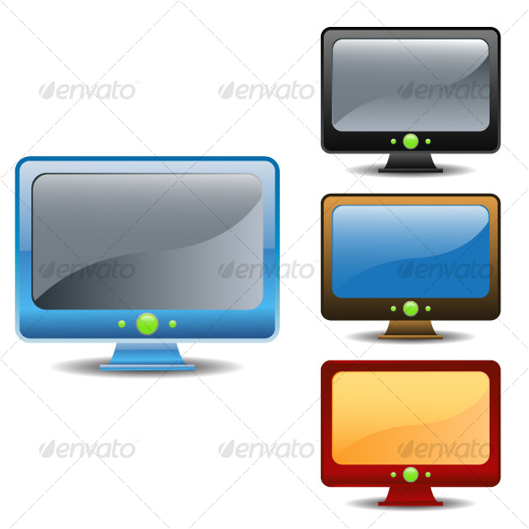 Monitors - Technology Icons