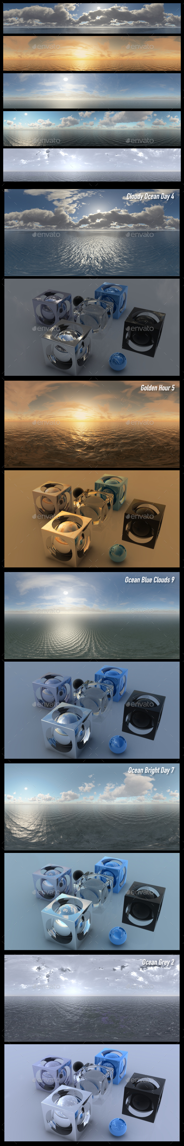 HDRI Pack 13 - 3DOcean Item for Sale