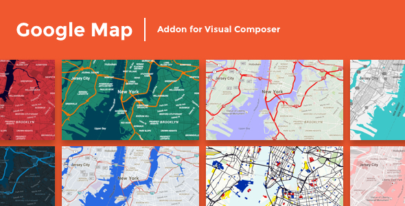 Google Maps Addon for Visual Composer