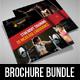 3 Sport Activity Square 3-Fold Brochure Bundle