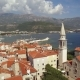 Aerial View of Budva in Montenegro - VideoHive Item for Sale