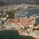 Aerial View of Budva City - VideoHive Item for Sale