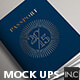 Passport | Booklet Photo Realistic Mock Up - GraphicRiver Item for Sale