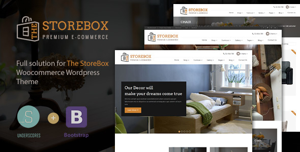 TheStoreBox- WooCommerce Multipurpose Responsive WordPress Theme