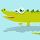 Cartoon Crocodile - VideoHive Item for Sale