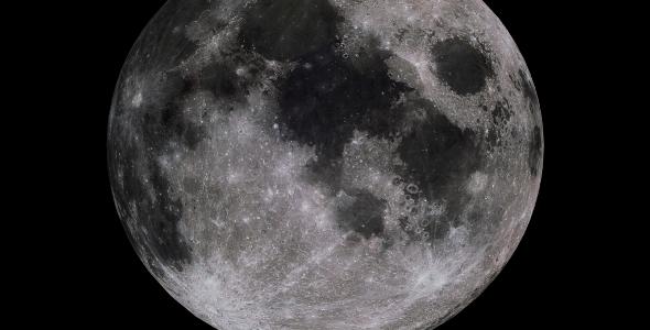 Moon 8k - 3DOcean Item for Sale