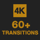 60+ Stylish Transition Pack - 4K - VideoHive Item for Sale
