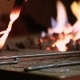 Blacksmith Heats Metal in Furnace - VideoHive Item for Sale