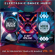 Electro Music Flyer Bundle Vol. 29 - GraphicRiver Item for Sale