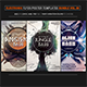 Electro Music Flyer Bundle Vol. 30 - GraphicRiver Item for Sale