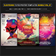 Electro Music Flyer Bundle Vol. 31 - GraphicRiver Item for Sale