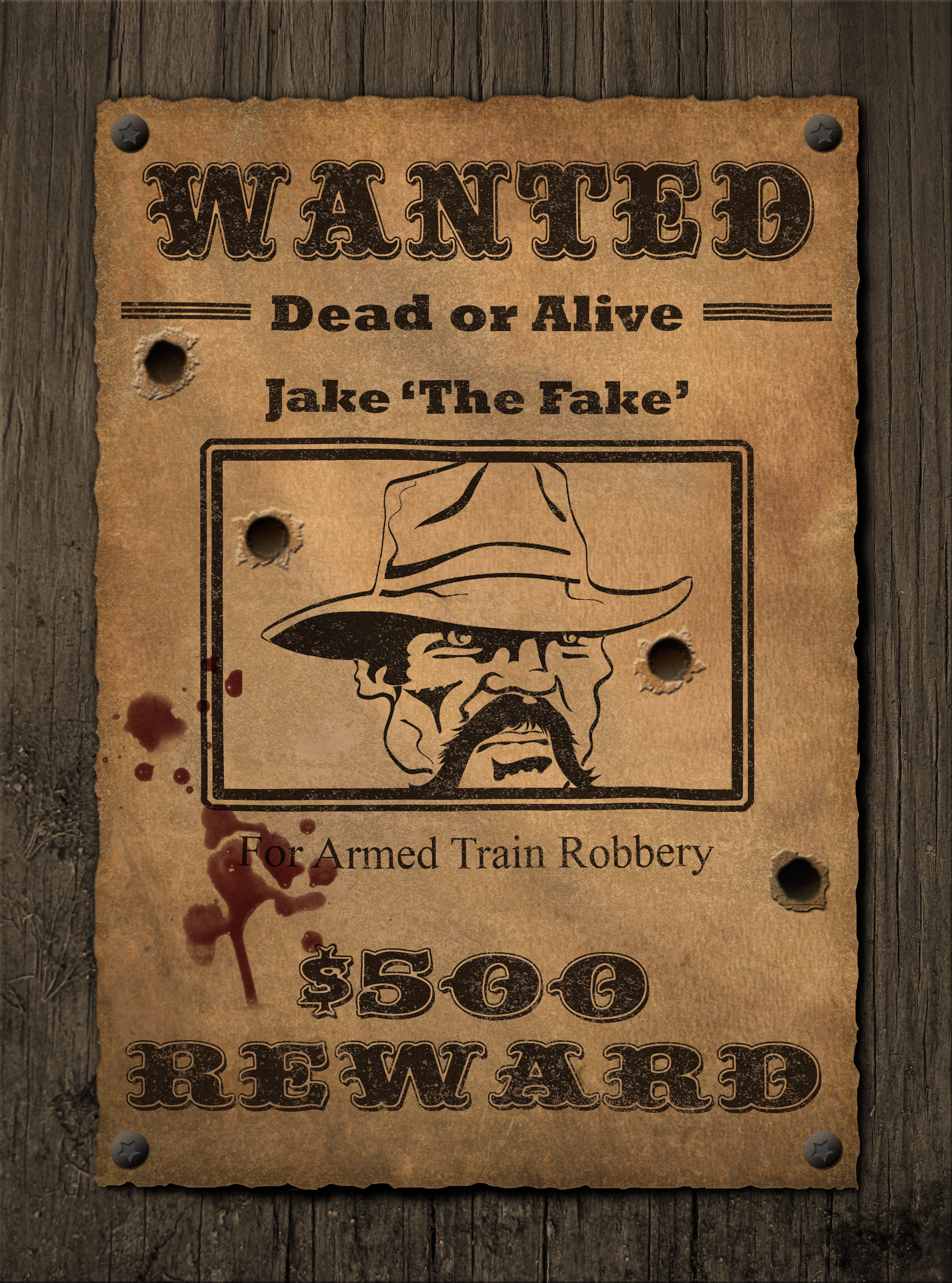 Complete Wanted Poster Creator by Jipito GraphicRiver