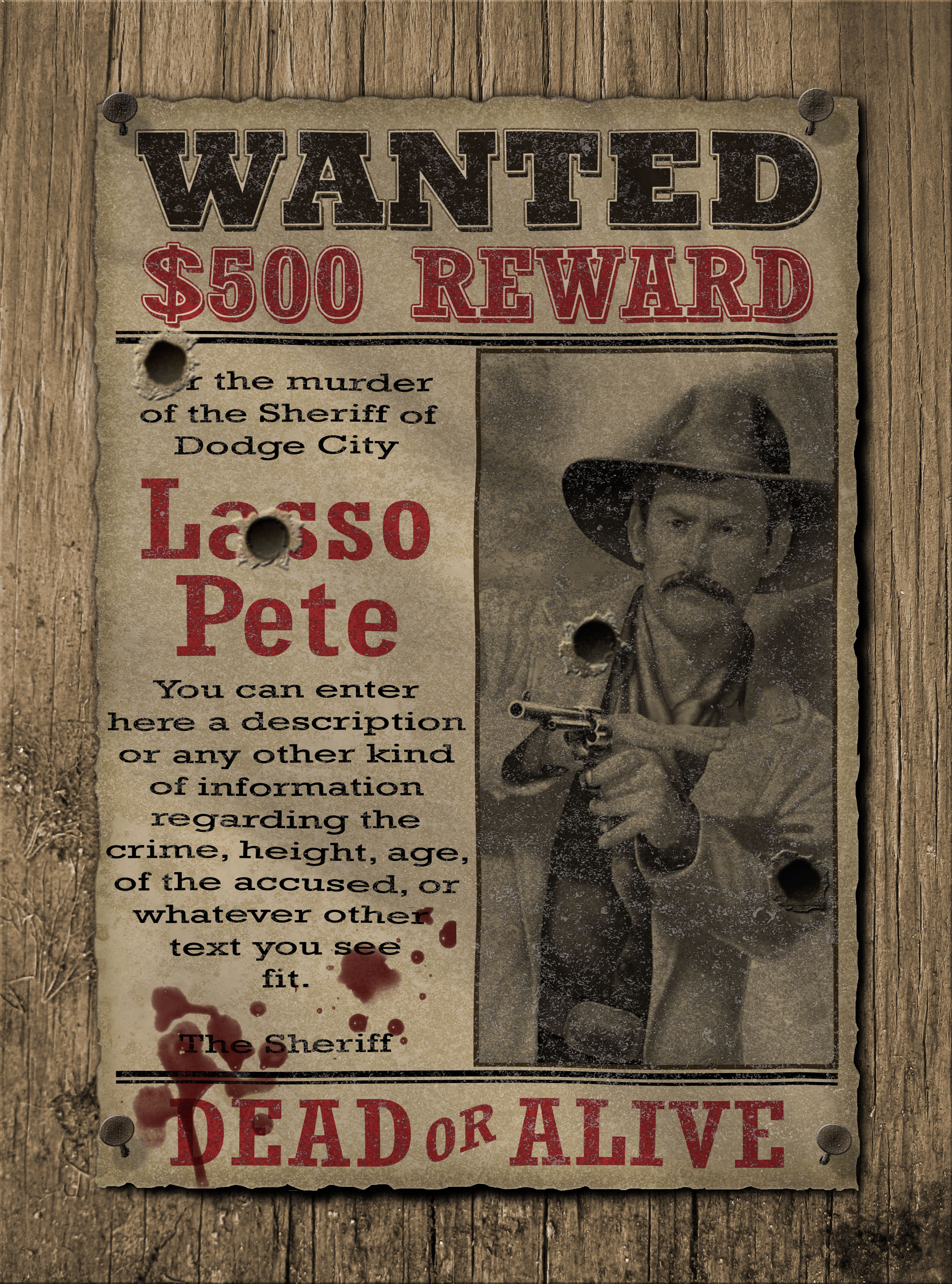 complete wanted poster creator by jipito