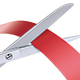 Scissors Cutting Red Ribbon - GraphicRiver Item for Sale