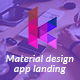 Keylead - Material Design App Landing Template - ThemeForest Item for Sale