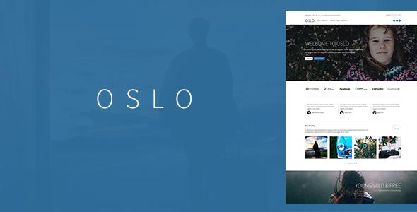 Oslo – Modern Responsive Theme
