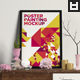 Poster Painting Interior Mock-ups Vol. 4 - GraphicRiver Item for Sale