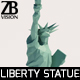 Lowpoly Statue of Liberty - 3DOcean Item for Sale