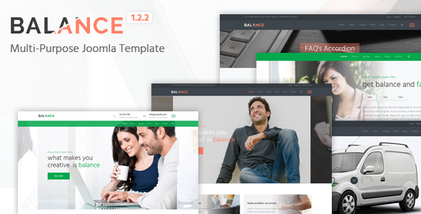 Image of Balance - Multipurpose Joomla Template