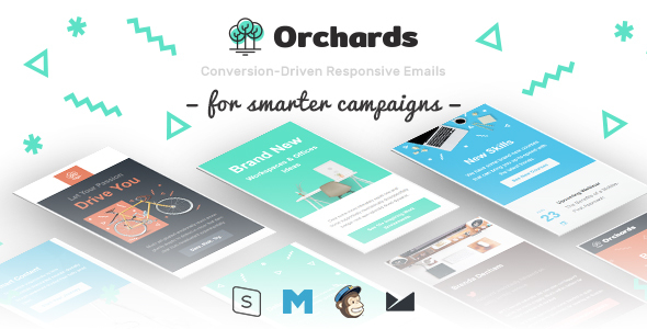 Orchards - Conversion-Driven Responsive Emails - Email Templates Marketing