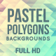 Pastel Polygons Background Pack - VideoHive Item for Sale