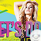 Flyer Let's Dance Saturday Night Party - GraphicRiver Item for Sale