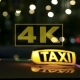 Leaving Taxi On The Background Blurred Traffic 5 - VideoHive Item for Sale