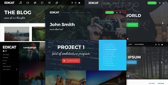 Edicat – Flexible and Multi Purpose WordPress Theme