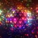Neon Disco Ball Triangles - VideoHive Item for Sale