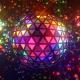 Neon Disco Ball Triangles - VideoHive Item for Sale