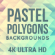 Pastel Polygons Background Pack 4K - VideoHive Item for Sale