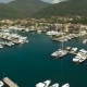 Aerial View Of Pier With Yachts - VideoHive Item for Sale