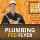 Plumbing Flyer For A Plumber - GraphicRiver Item for Sale