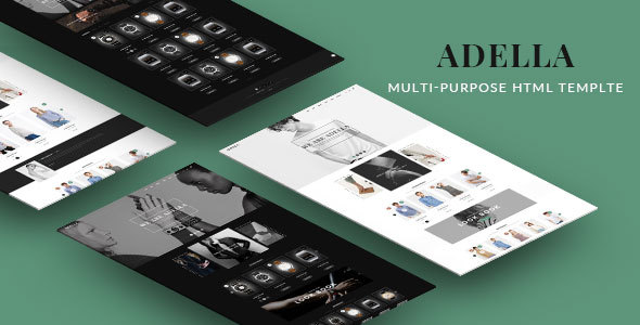 Adella – Kute HTML Template