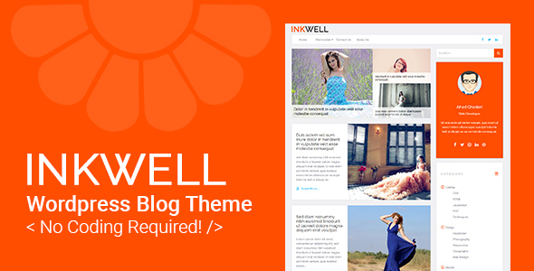 Inkwell - WordPress Blog Theme