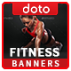 HTML5 Health & Fitness Banners - GWD - 7 Sizes (Elite-CC-108) - CodeCanyon Item for Sale