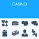 Casino icons - GraphicRiver Item for Sale