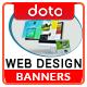 Web & Graphics HTML5 Banners - GWD - 7 Sizes (Elite-CC-109)